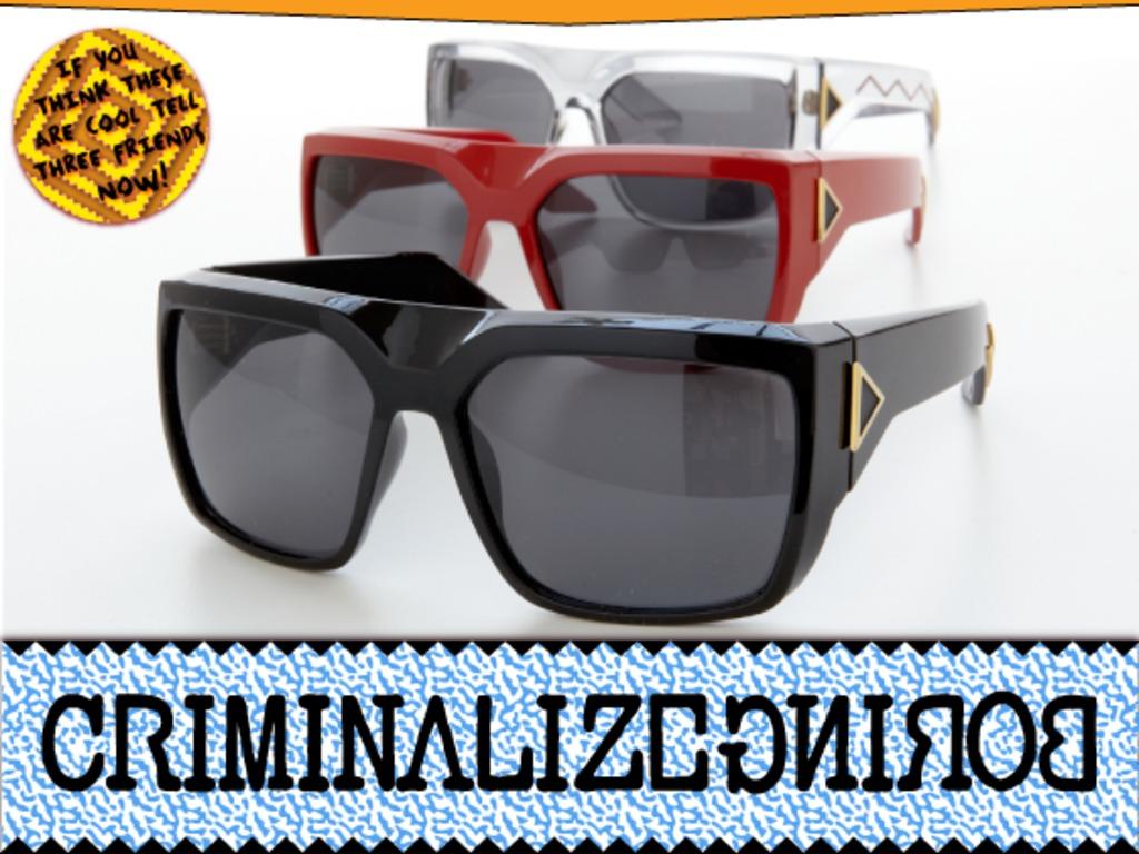 CRIMINALIZEBORING Sunglasses's video poster