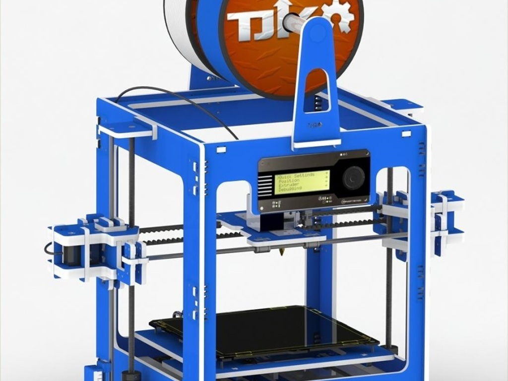 The Snap 3D Printer's video poster