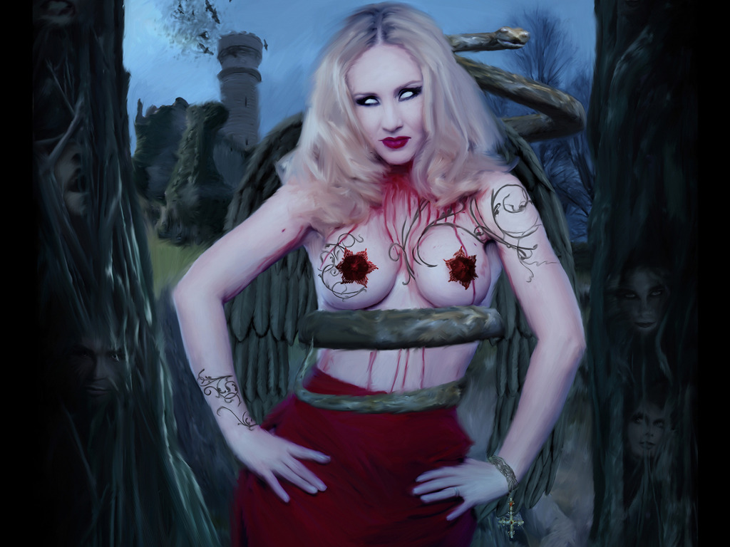 Cradle of Filth: The Curse of Venus Aversa's video poster