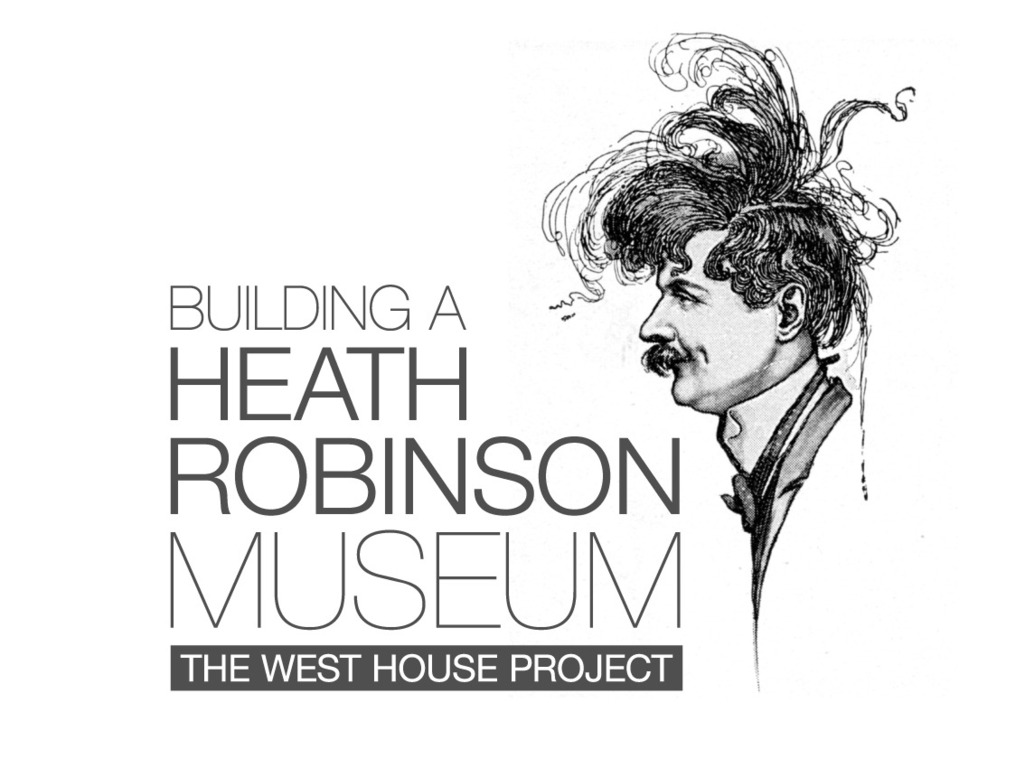 The Permanent Exhibition of Heath Robinson's Life and Work's video poster