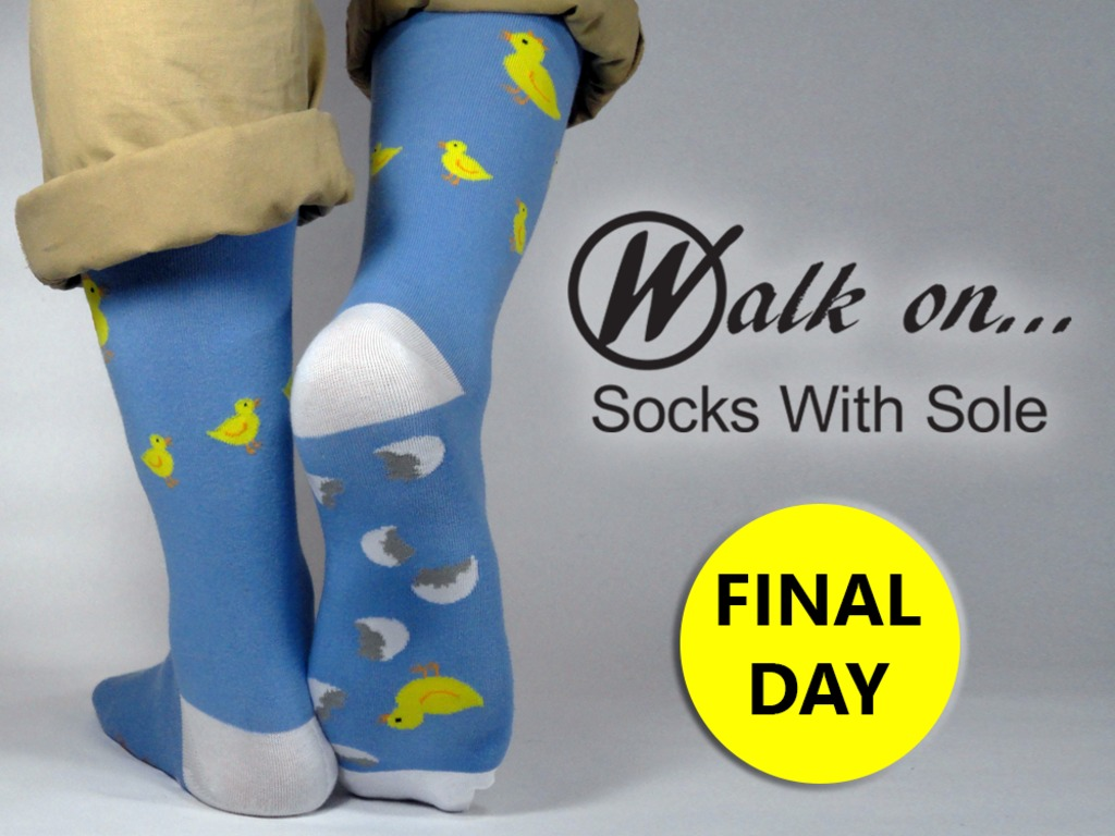 Walk On...Socks With Sole's video poster