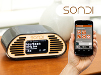 SONDI: Stylish, customisable and connected Alarm Clock