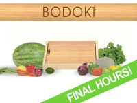 Bodoki: the no-mess cutting board that does more!