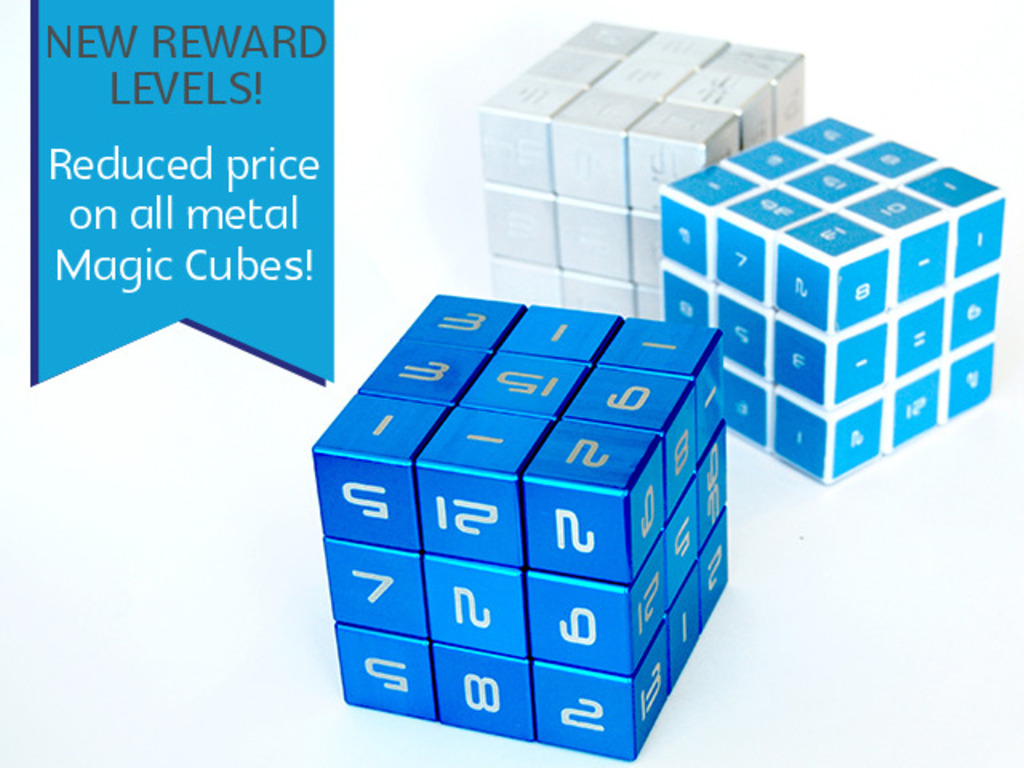 The Magic Cube - A Mathematic 3D Logic Puzzle's video poster
