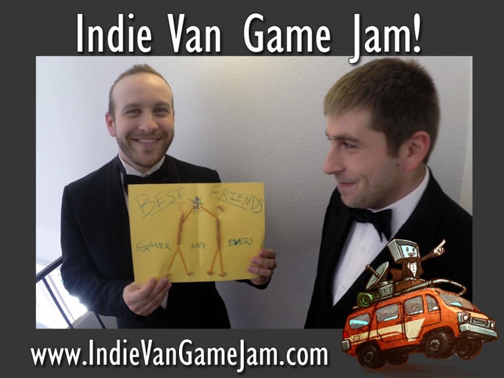 Indie Van Game Jam's video poster