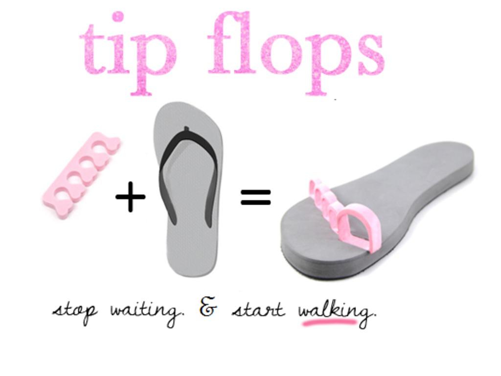 Tip Flops! Stop Waiting & Start Walking's video poster
