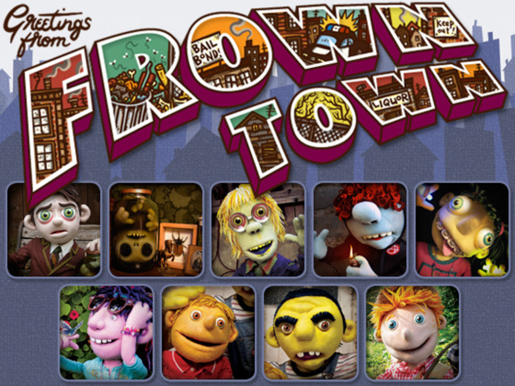 Frown Town - An Independent and Incredibly Awesome Puppet Show's video poster