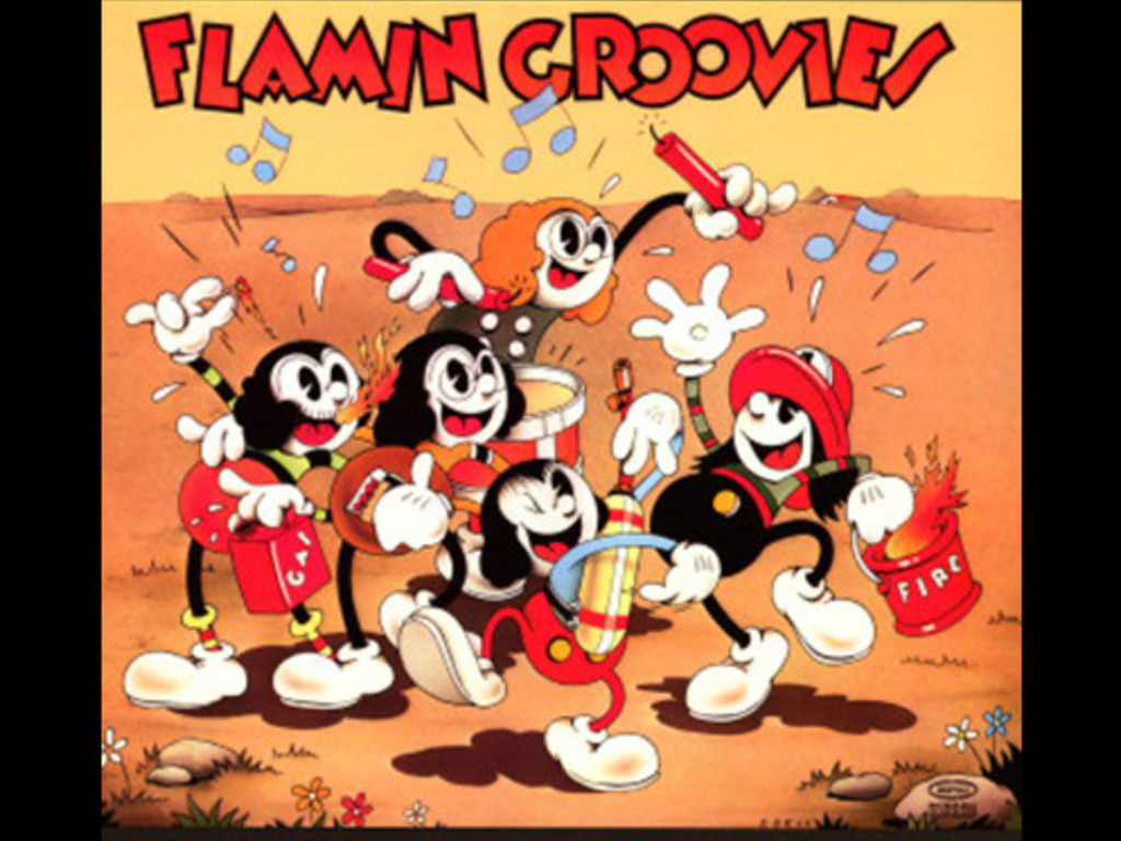 The Incredible Flamin' Groovies Movie's video poster