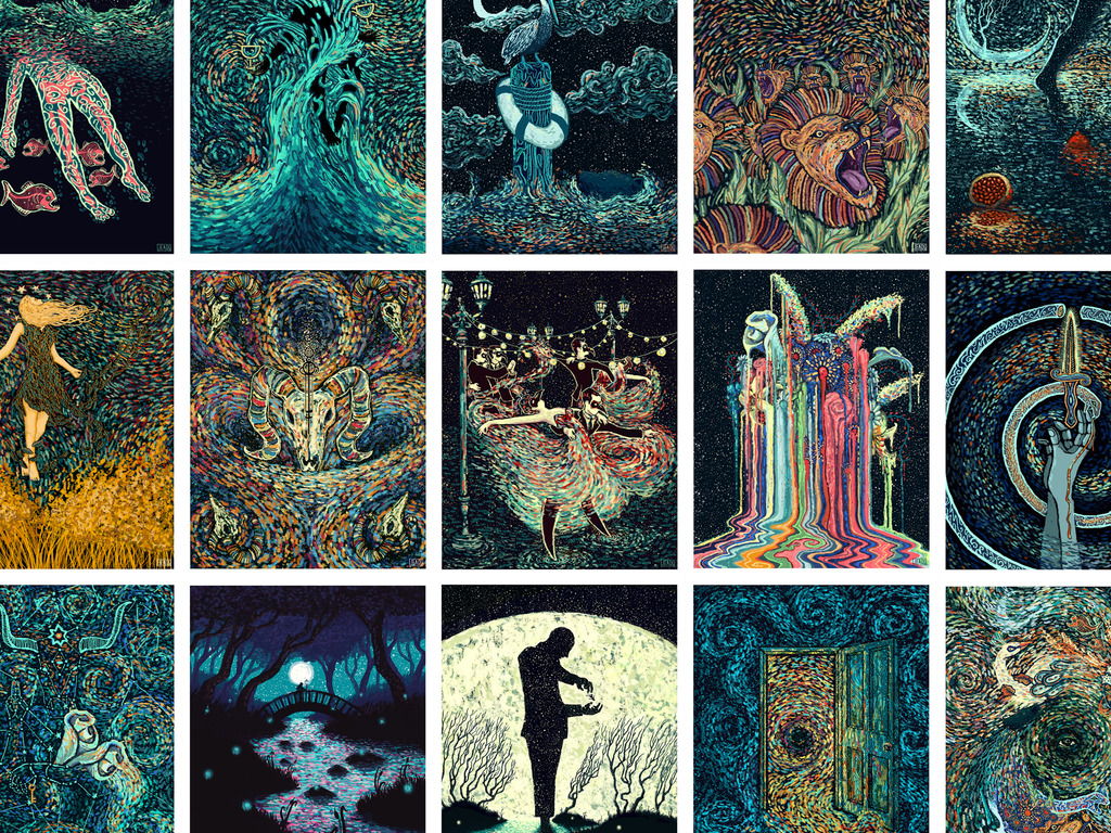The Visions Project: Tarot Cards & Art Prints's video poster
