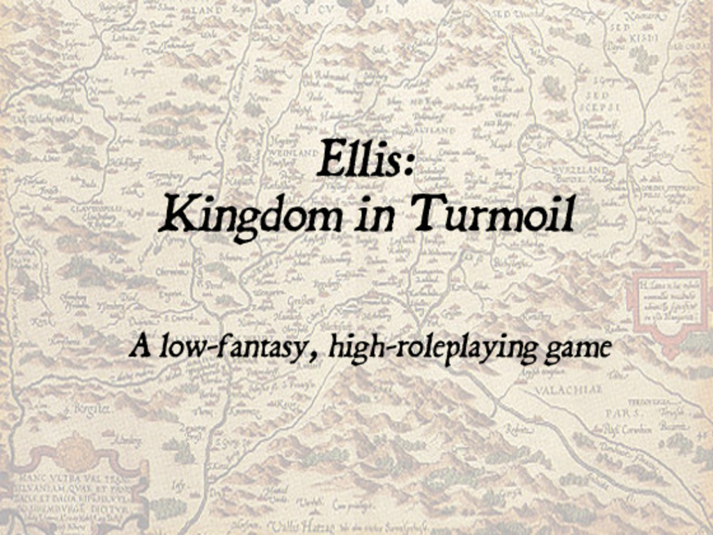 Ellis: Kingdom in Turmoil Roleplaying Game's video poster