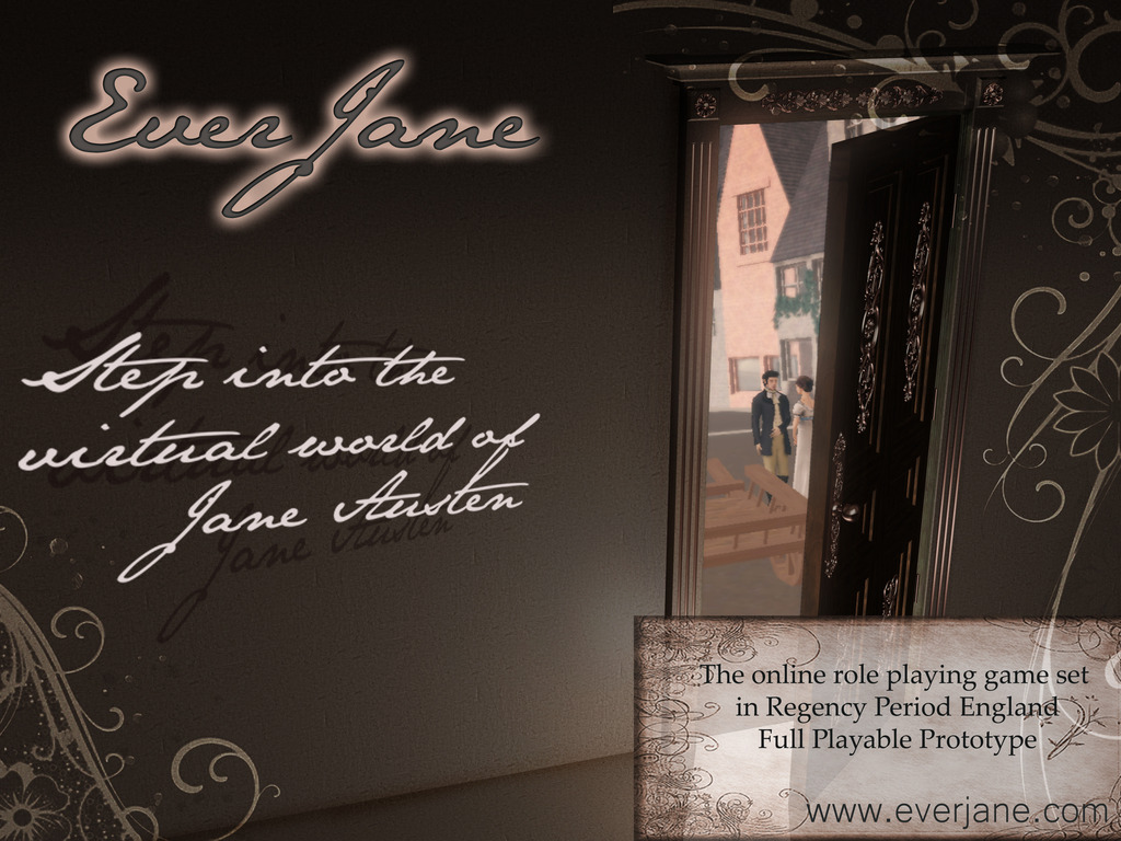 Ever, Jane: The Virtual World of Jane Austen's video poster