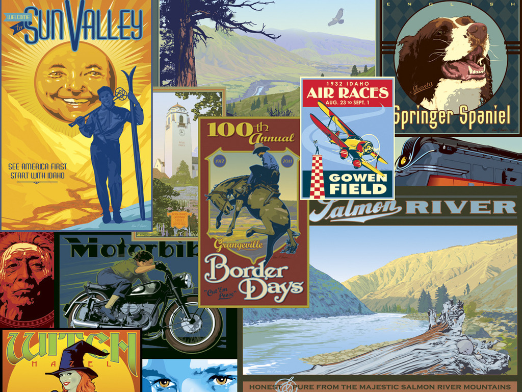 100 Travel Posters with a Twist's video poster