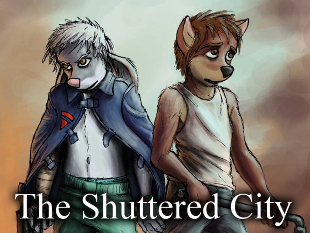 The Shuttered City Graphic Novel's video poster