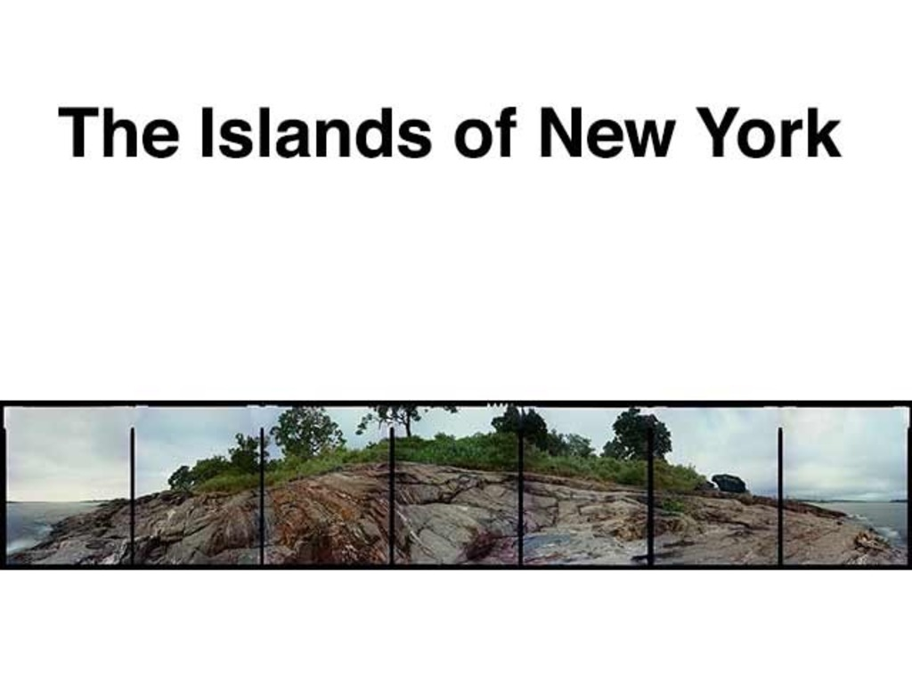 The Islands of New York - two solo museum shows in New York's video poster