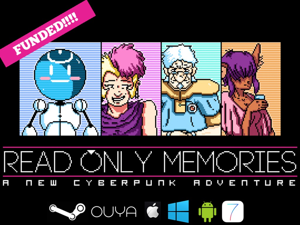 ROM: Read Only Memories's video poster