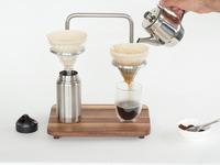 Pour Lab --  Dual Pour Over Coffee Set