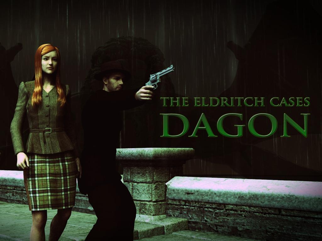 The Eldritch Cases: Dagon - A Lovecraft horror adventure's video poster