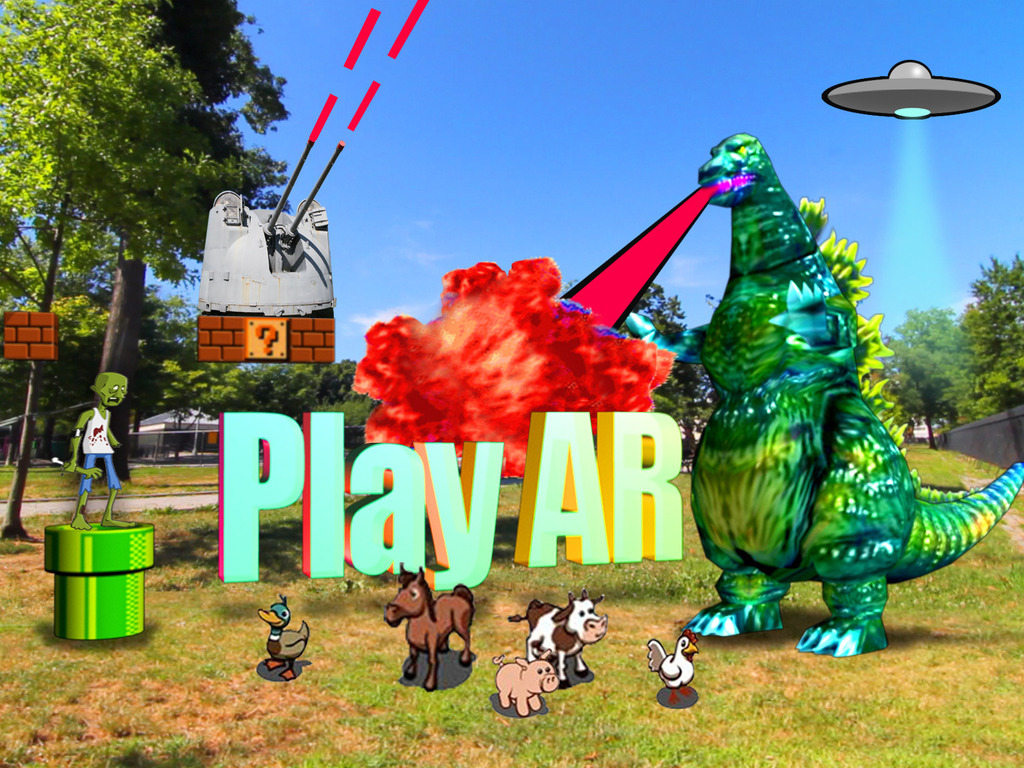 Play AR's video poster