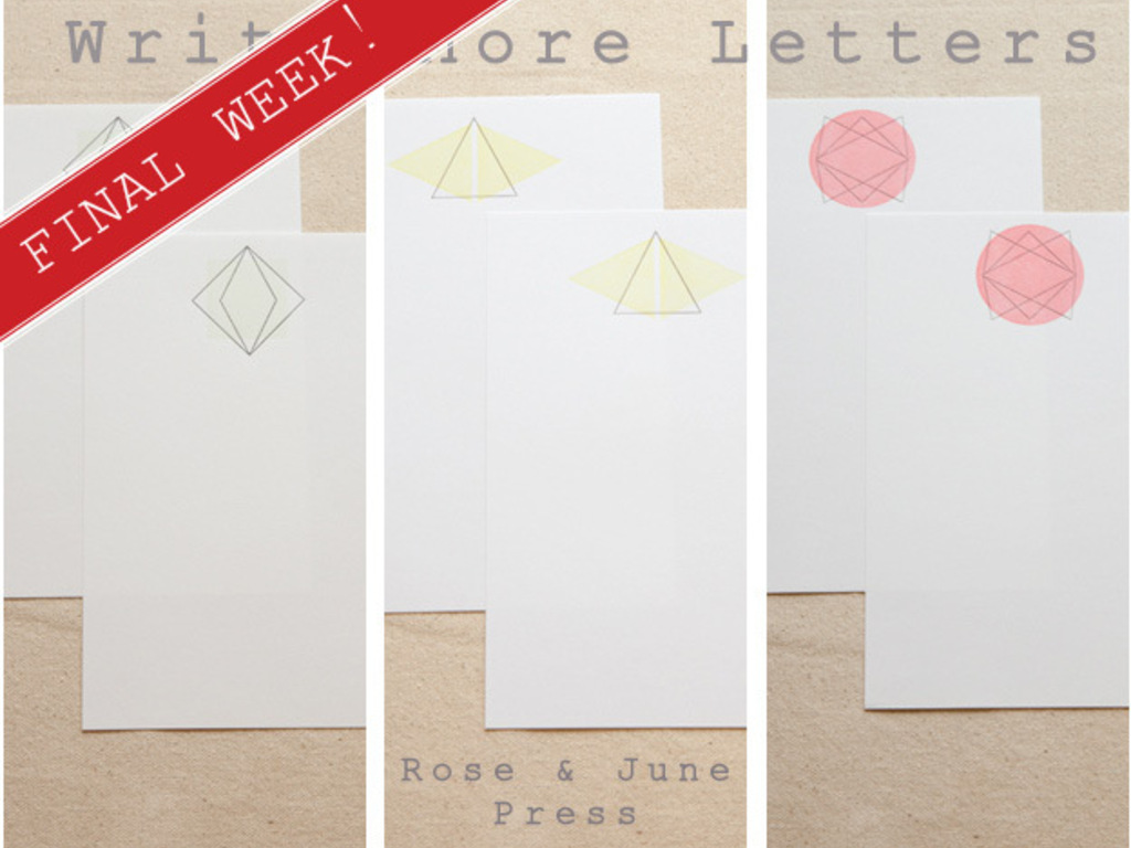 Write More Letters's video poster