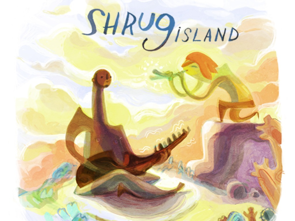 Shrug Island's video poster
