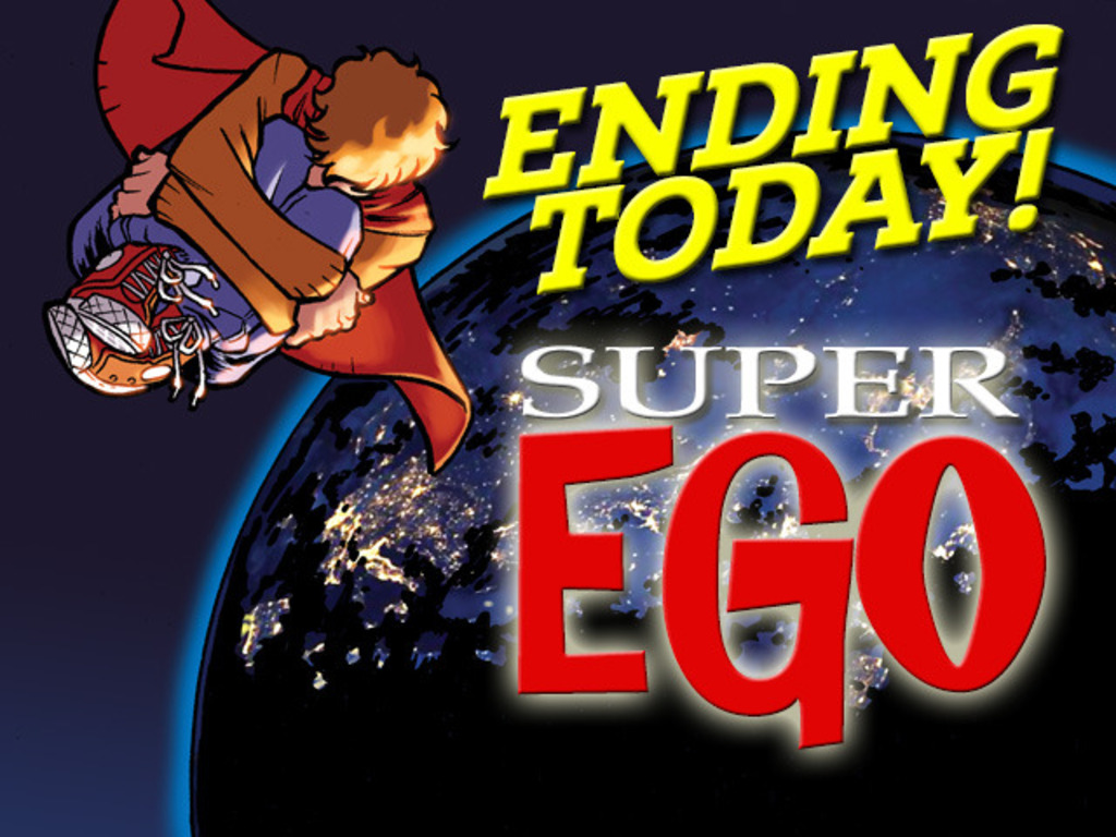SUPER-EGO, a comic about superheroes who need help.'s video poster