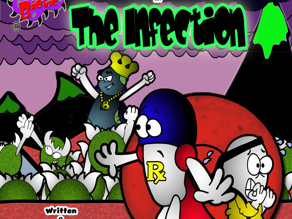 """Andy Biotic in """"The Infection""""'s video poster"""