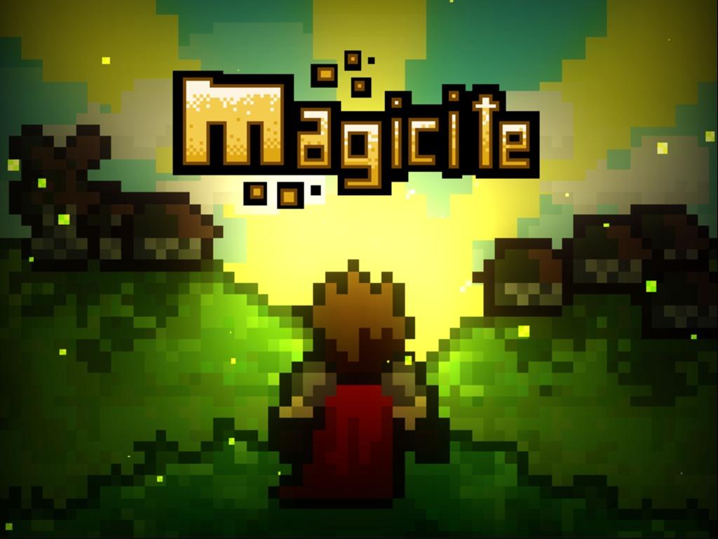 Magicite - A Multiplayer RPG Platformer's video poster
