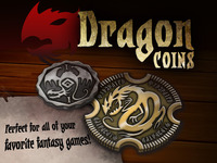 Metal Dragon Coins