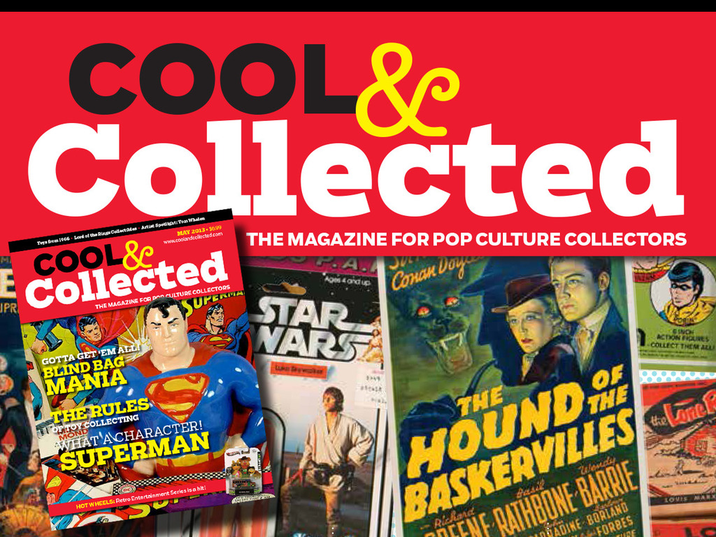 Cool & Collected: The magazine for pop culture collectors's video poster