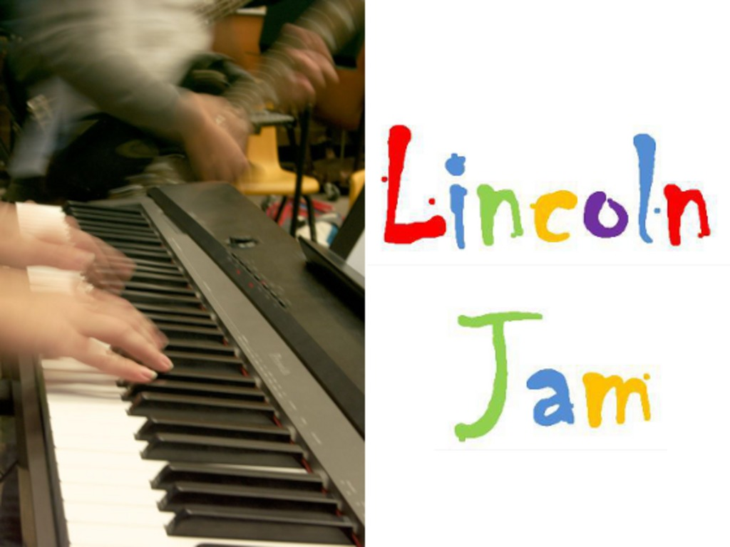 The Lincoln Jam - a mashup of music, videography and arts's video poster