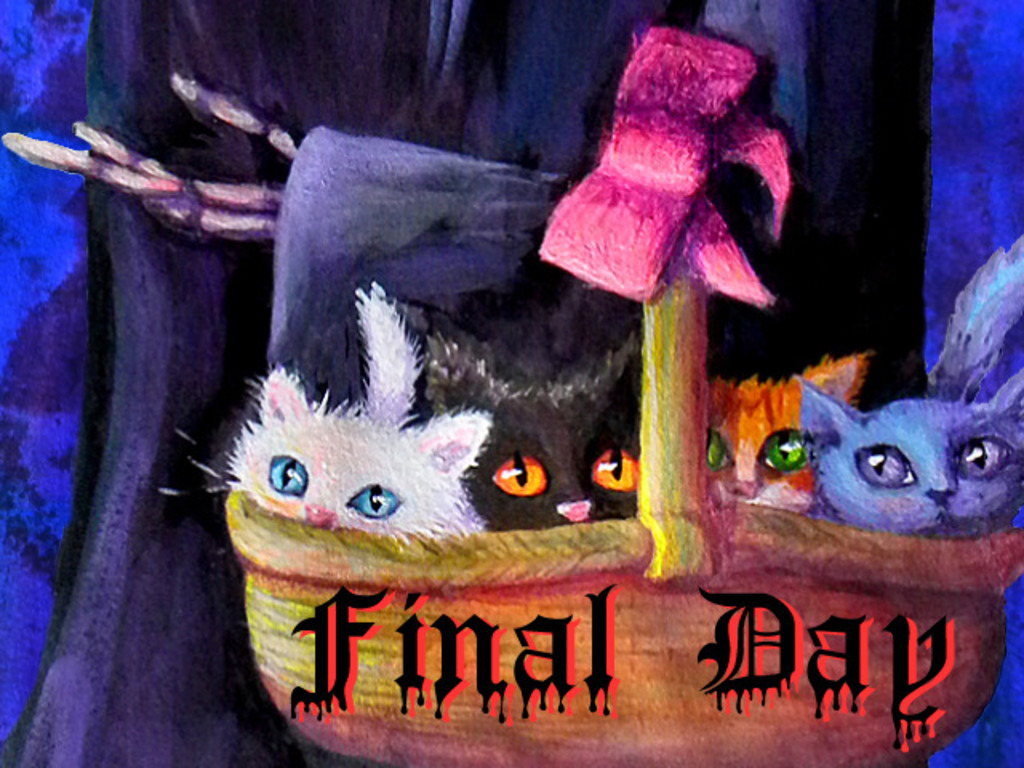 Death's Daughter and the Basket of Kittens's video poster