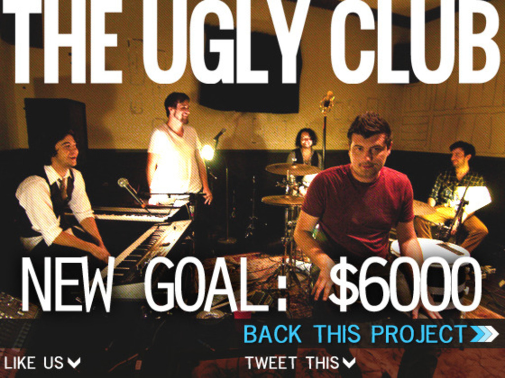 The Ugly Club is making their debut full-length record!'s video poster