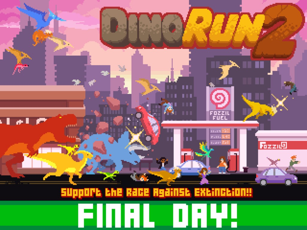 Dino Run 2's video poster