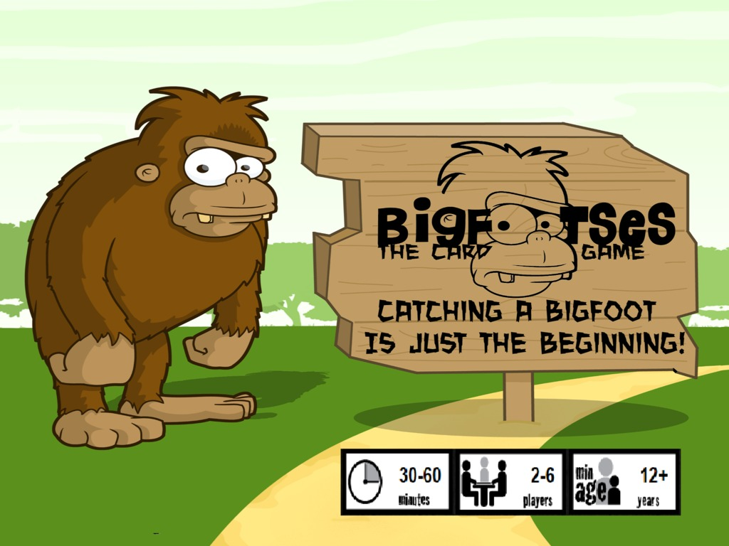 Bigfootses, The Card Game.'s video poster