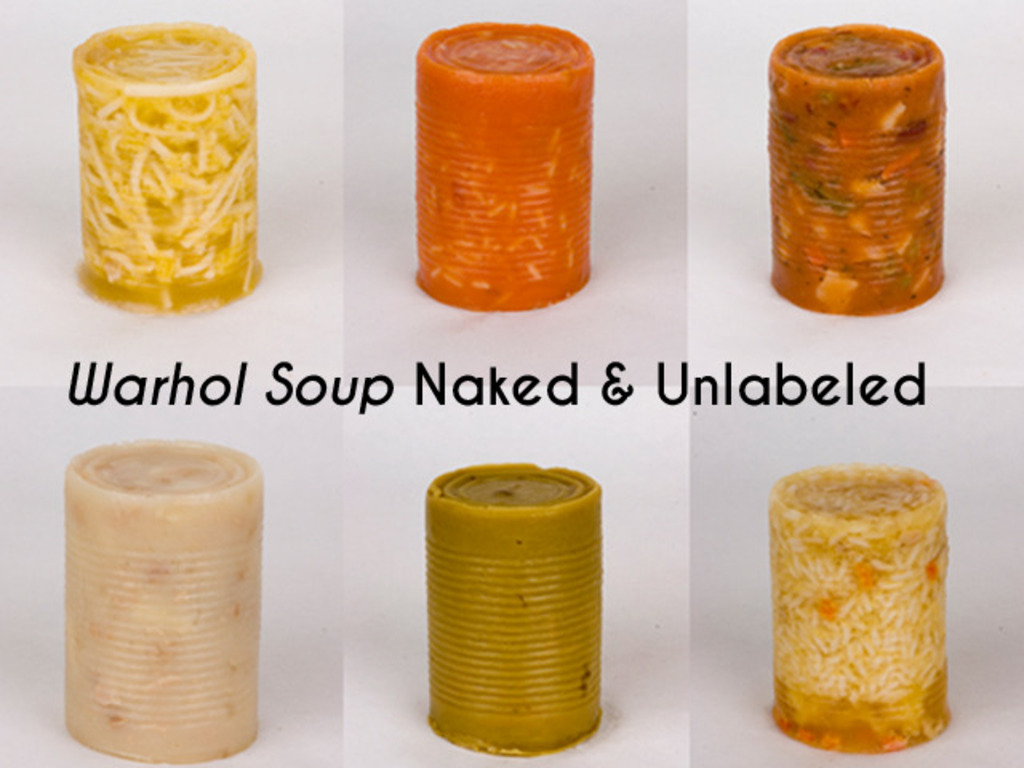 Warhol Soup Cans Naked & Unlabeled's video poster