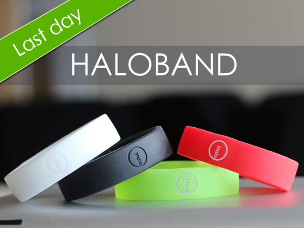 Haloband: Control your smartphone with simple wrist move!'s video poster