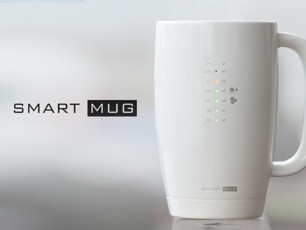 Smart Mug: your favourite hot beverages served right's video poster
