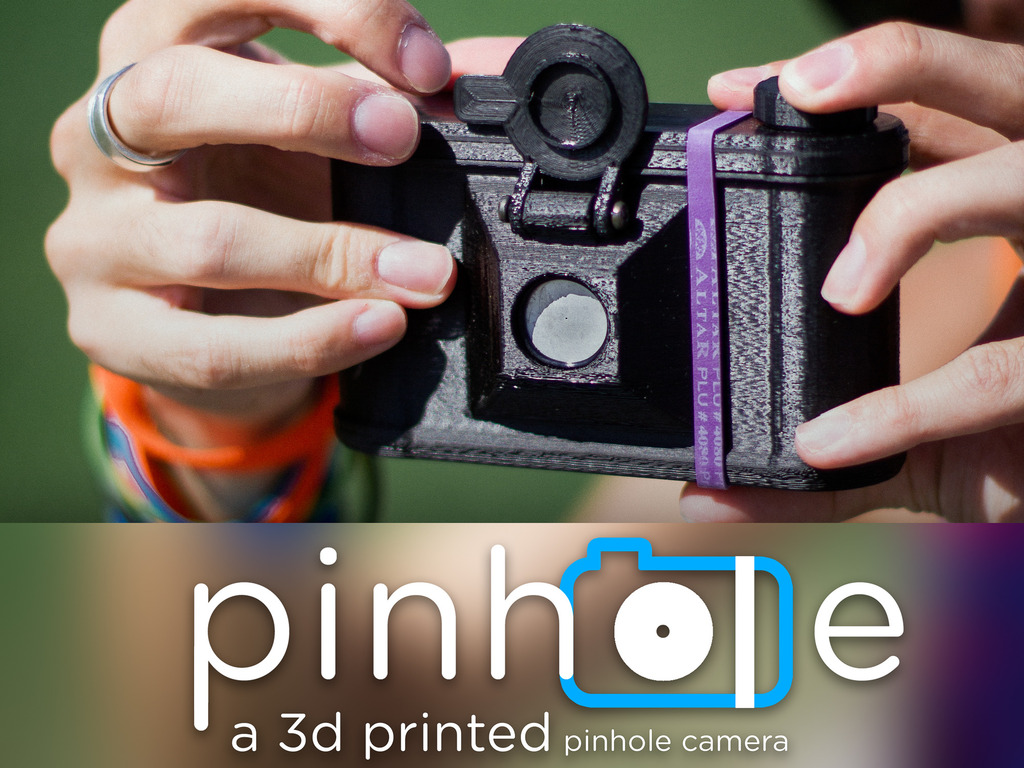 Pinhole, Printed - a 3D printed pinhole camera's video poster