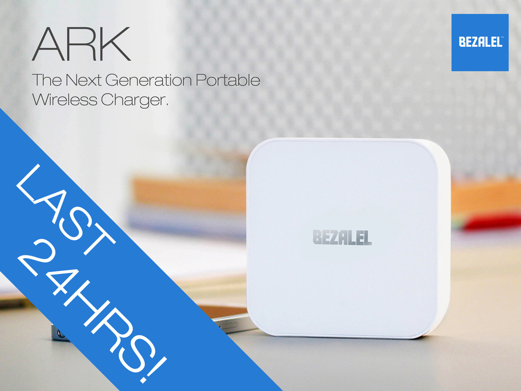 ARK - The Next Generation Portable Wireless Charger's video poster