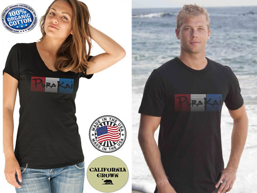 Made in USA California Organic Cotton Shirt Project's video poster