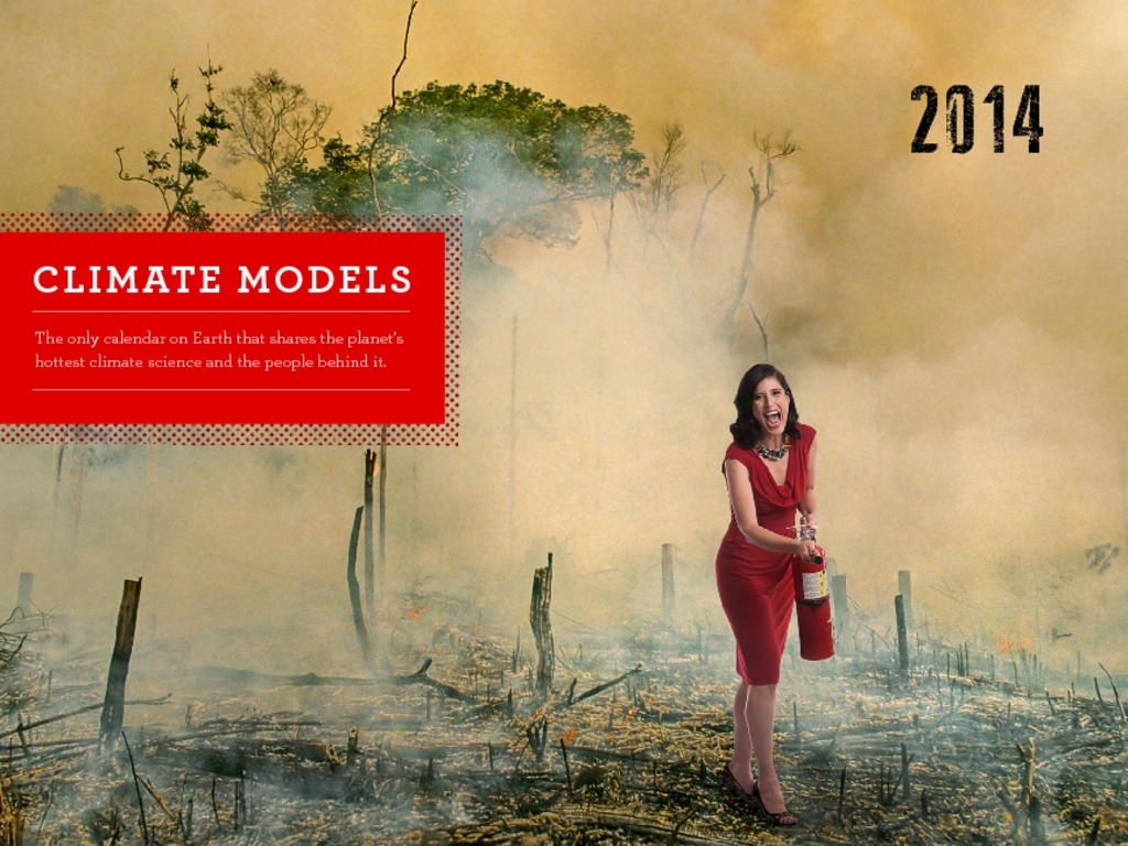 2014 Climate Models Wall Calendar's video poster