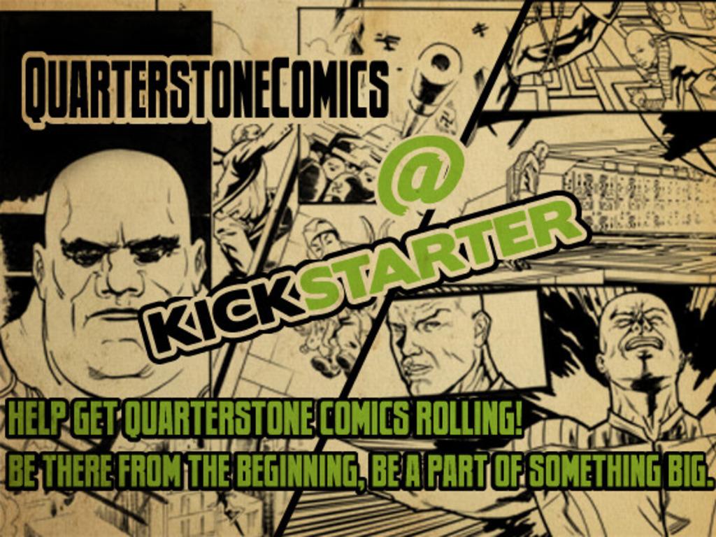 Quarterstone Comics production fund raiser, Join the Q-mmunity!'s video poster