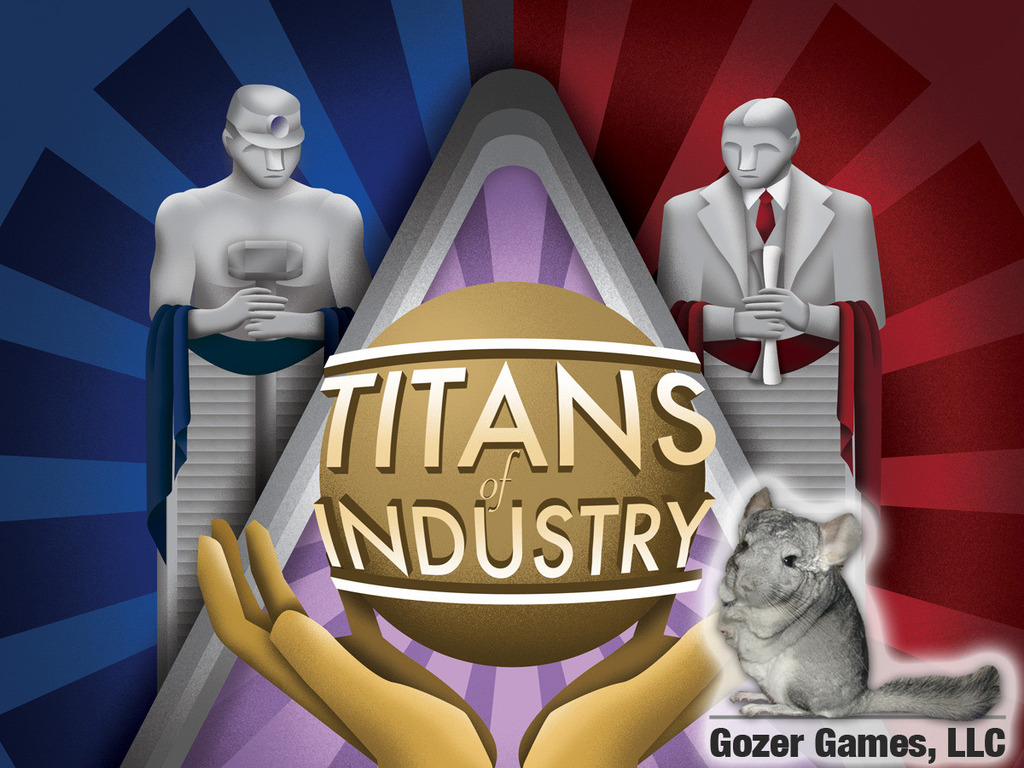 Titans of Industry Board Game's video poster
