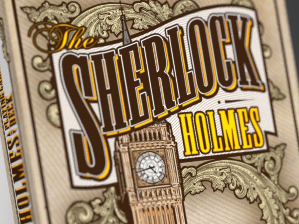 Sherlock Holmes - A playing card deck's video poster
