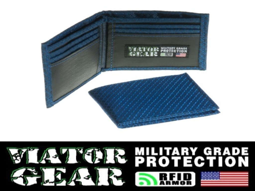 VIATOR GEAR RFID ARMOR Wallet - Made in the USA's video poster