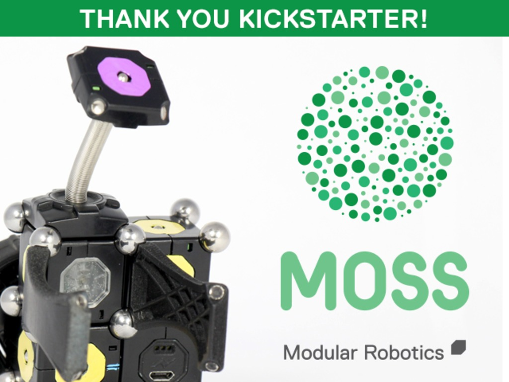MOSS - The Dynamic Robot Construction Kit's video poster