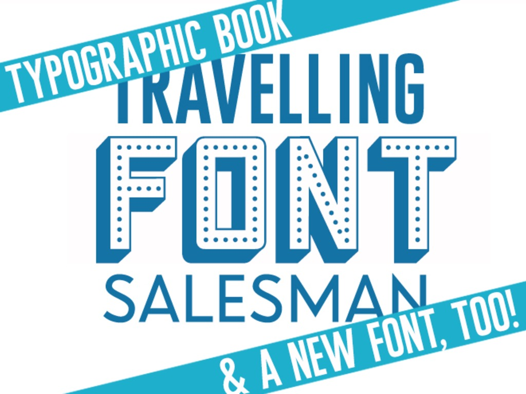 Travelling Font Salesman - Typographic Book's video poster