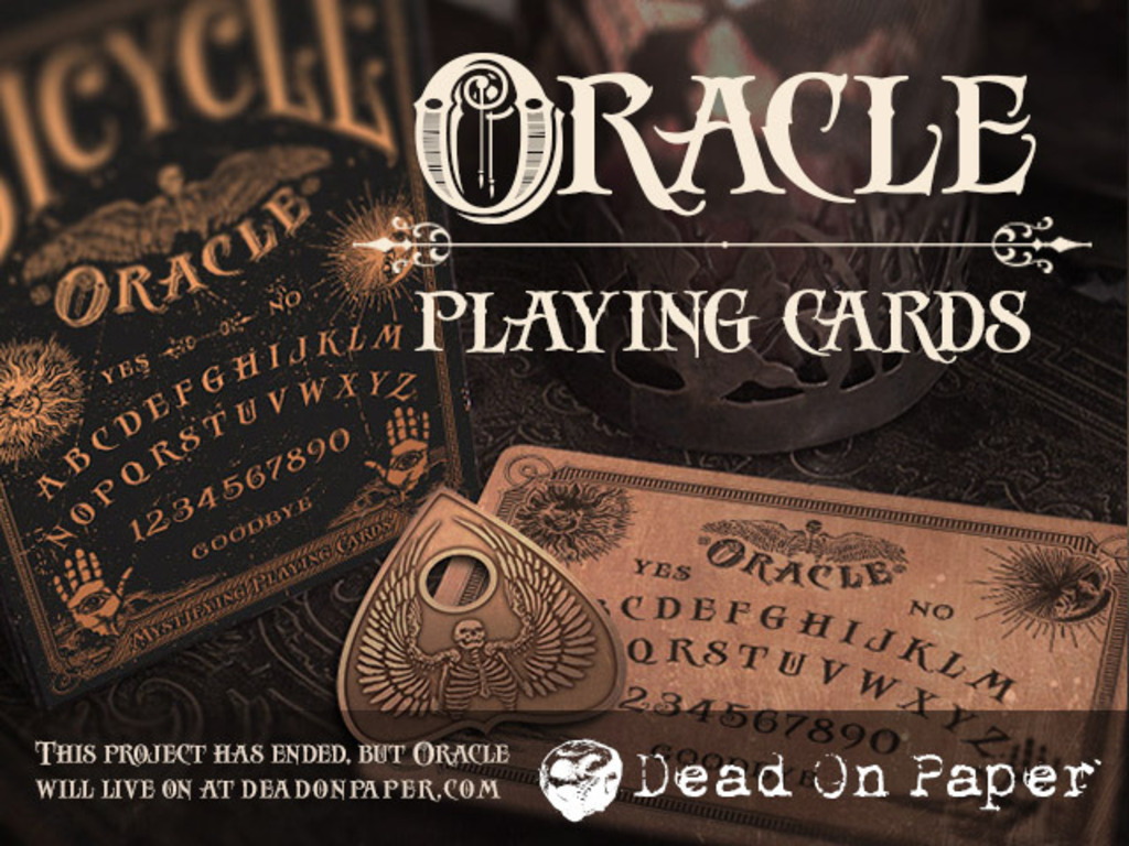 Oracle - Mystifying Playing Cards's video poster