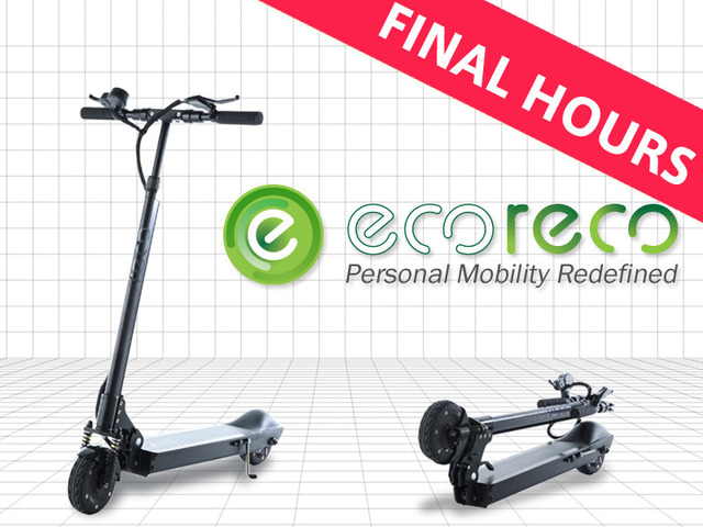 EcoReco M3 Scooter: State-of-Art Last Mile Electric Vehicle