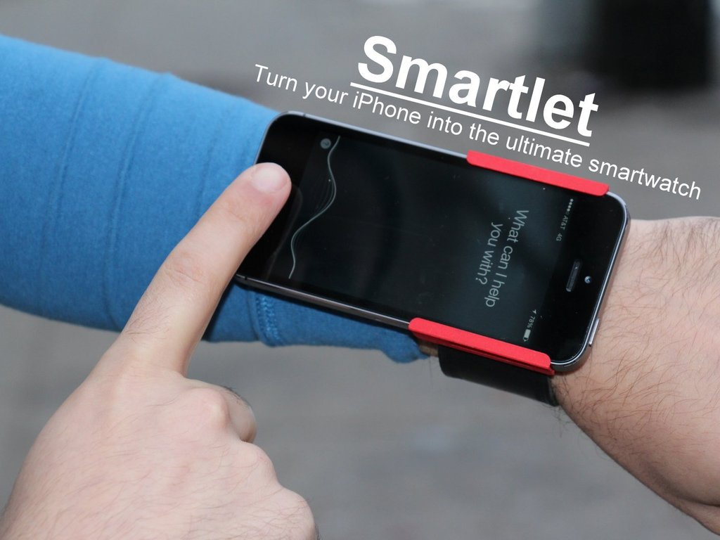 Smartlet: Wear your iPhone on your wrist!'s video poster